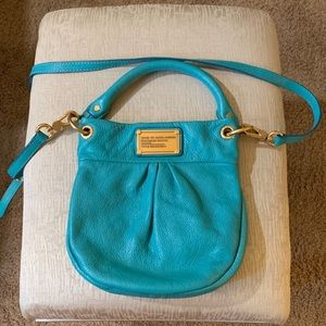 Marc by Marc Jacobs Teal leather crossbody
